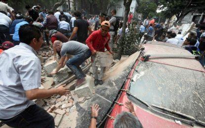 Terremoto atinge o México e deixa várias pessoas mortas