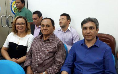 Em reunião na APPM, prefeito de Marcos Parente busca soluções para amenizar a crise financeira do município