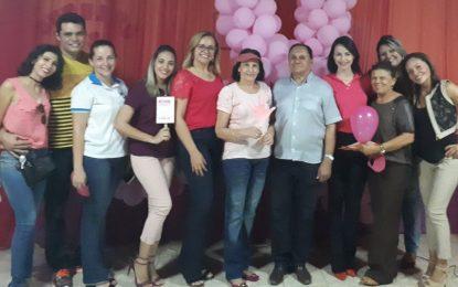 Marcos Parente realiza ações em alusão à campanha Outubro Rosa
