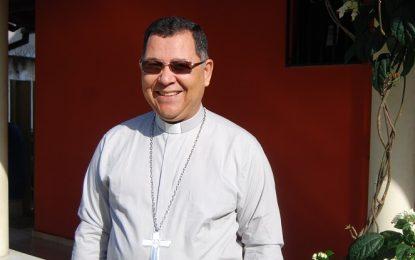Bispo Dom Edvalter estará em Guadalupe no próximo domingo, 8 de outubro.