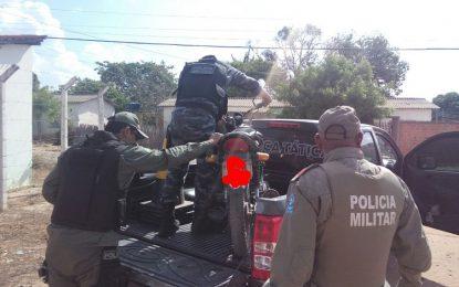 PM de Guadalupe realiza blitz e apreende moto com número de chassi adulterado