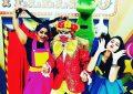 Bertolínia promove festa pra criançada com o Projeto Circulando Alegria