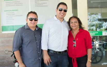 Vereadora Gleicy acompanha visita do Superintendente da SESAPI em Uruçuí