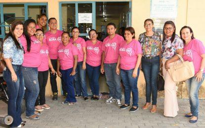 Unidade de Saúde de Floriano realiza mutirão de exame de colo útero