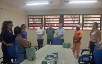 Prefeitura de Floriano e UFPI se unem em projeto que beneficia catadores de lixo