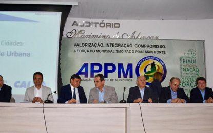 Júlio César participa de lançamento de Programa de mobilidade urbana