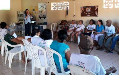 CRAS promove palestra para Grupo de Idosos em Landri Sales