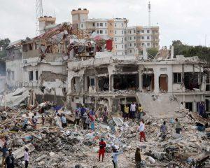 Mais de 180 mortos em atentado na capital da Somália