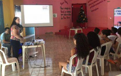 Bullying é tema de palestra para jovens de Marcos Parente