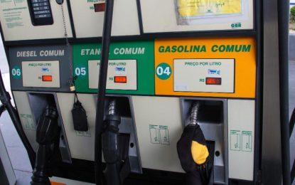Preços de gasolina e do diesel caem nesta sexta (17)