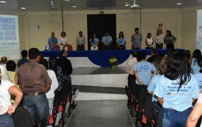 Evento marca abertura de Campanha do Novembro Azul em Floriano