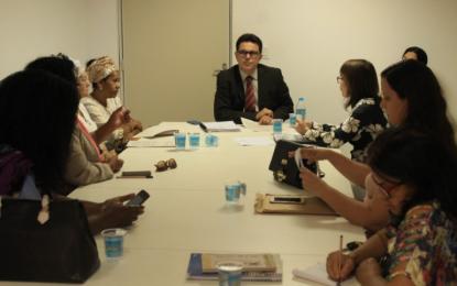 Zé Santana e Unesco tratam de combate à intolerância religiosa