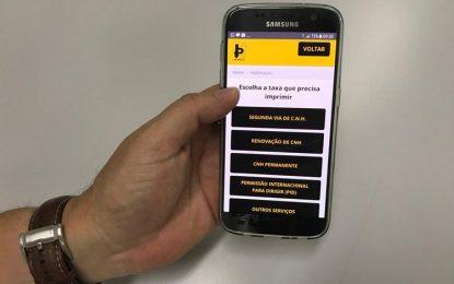 Detran do Piaui lança aplicativo de consultas e serviços