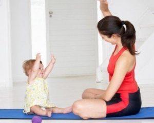 Exercícios físicos para quem acabou de ter um filho!