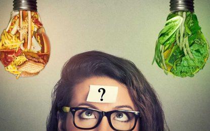 Alimentação influencia diretamente no cérebro, para melhor ou pior