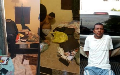 Presos acusados de explosões nos bancos em Jerumenha e Marcos Parente