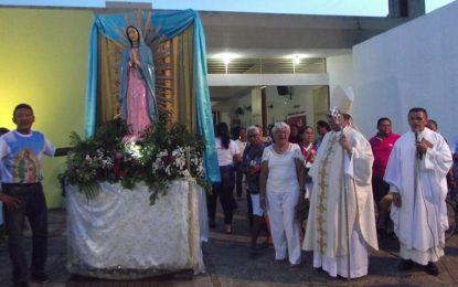 Dom Edvalter celebra missa de encerramento nos festejos da padroeira de Guadalupe