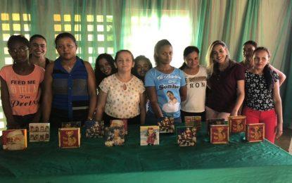 Prefeitura de Marcos Parente realiza curso de Decoupage em MDF para às mães atendidas pelo CRAS