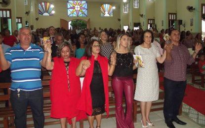 Prefeito Pedro Nunes participa de missa em homenagem aos 55 anos de Marcos Parente