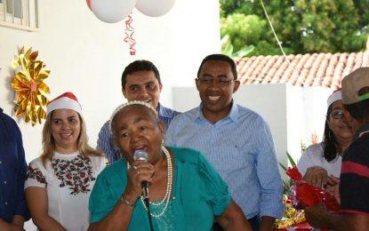 Prefeitura de Floriano realiza festa para os idosos do CRAS I do Bairro Sambaíba