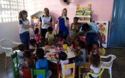 Cras de Marcos Parente retoma ações do Programa Criança Feliz