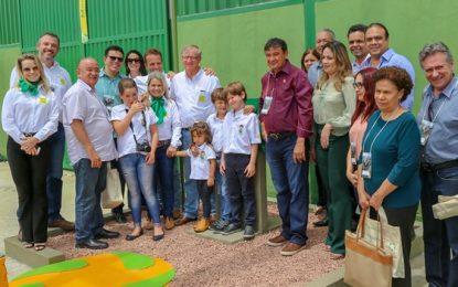 Usina de energia solar é inaugurada em Sebastião Leal