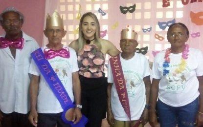 Assistência Social de Marcos Parente realiza o Carnaval dos Idosos