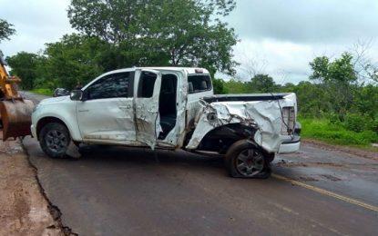 Mulher morre em grave acidente na BR 135 entre Gilbués e Monte Alegre