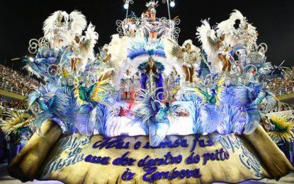 Beija-Flor de Nilópolis é a grande campeã do Carnaval do Rio em 2018