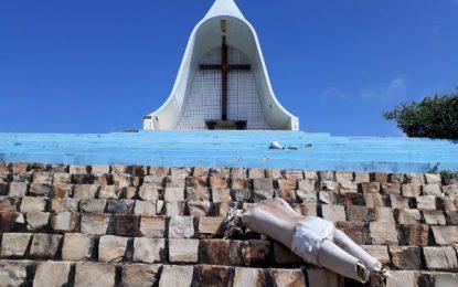 Símbolo de fé é destruído em ato de vandalismo em Landri Sales
