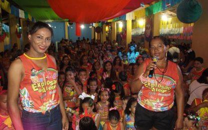 Bloco Mulekada finaliza o seu carnaval em Guadalupe com muita alegria e animação