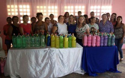 Prefeitura de Marcos Parente oferece curso de fabricação de produtos de limpeza