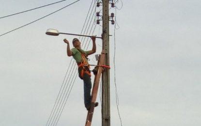 Prefeitura de Jerumenha inicia recuperação da iluminação pública