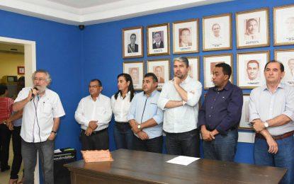Prefeito de Floriano anuncia mudança em sua equipe de secretariado