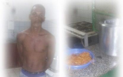 Homem é preso em flagrante furtando merenda escolar em Landri Sales