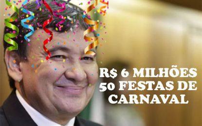 CARNAVAL: W.DIAS e deputados torraram R$ 6 milhões em 50 festas