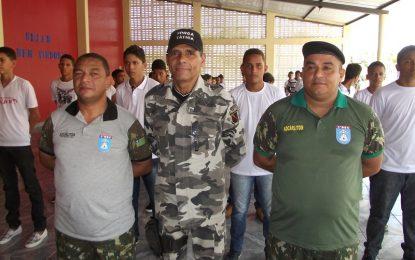 Pelotão Mirim inicia suas atividades no município de Guadalupe