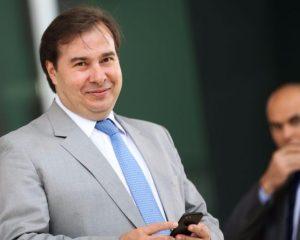Rodrigo Maia lança candidatura  a presidente do Brasil