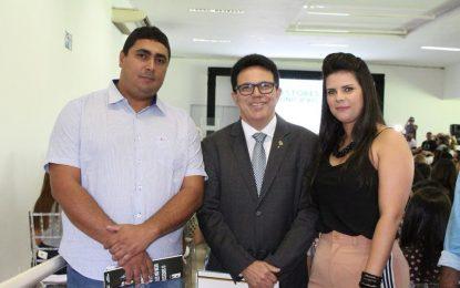 Prefeita Aldara participa de eventos da Sasc e enaltece o trabalho de Zé Santana