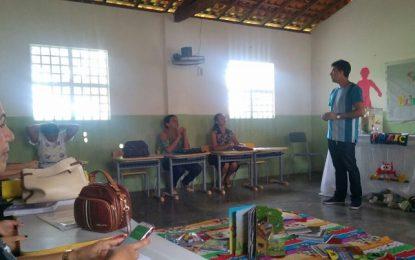 Bertolínia realiza encontro de formação continuada para educação infantil