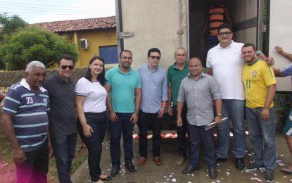 """SASC beneficia famílias guadalupenses com o Programa """"Peixe na Mesa"""""""