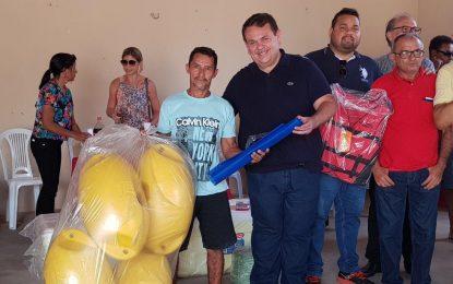 Silas lança projetos de piscicultura em Floriano, Jerumenha e Guadalupe