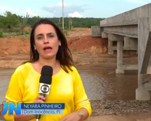 Drama dos moradores de Dom Inocêncio é destaque no Jornal Nacional