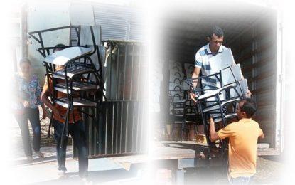 Escolas municipais de Jerumenha ganham novas cadeiras escolares