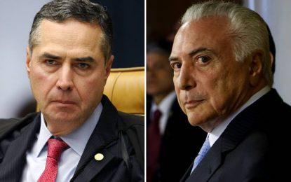 Ministro do STF manda investigar como Temer teve acesso a dado sigiloso