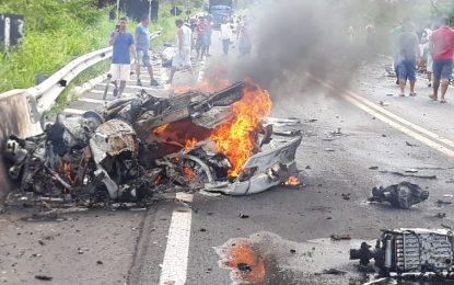 Duas pessoas morrem em acidente próximo ao município de Campo Maior