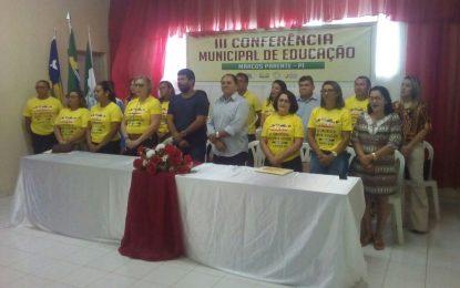 Prefeitura de Marcos Parente realiza sua III Conferência Municipal de Educação