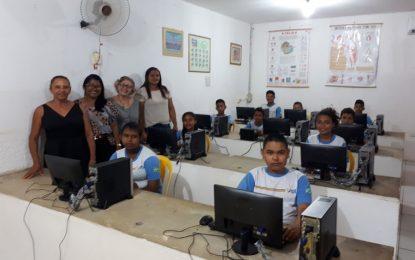 Escola Alzira Fonseca inaugura laboratório de informática em Marcos Parente