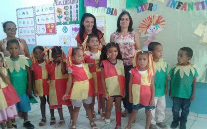 Escolas municipais de Marcos Parente celebram o Dia do Livro