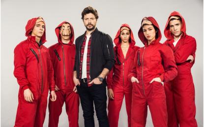 Netflix anuncia a terceira parte da série 'La Casa de Papel'